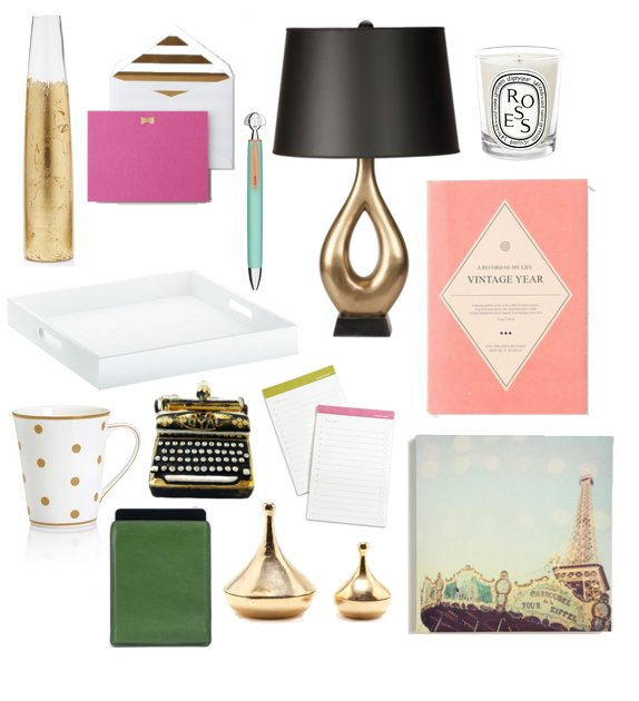 glamorous home office accessories 2012 popsugar home