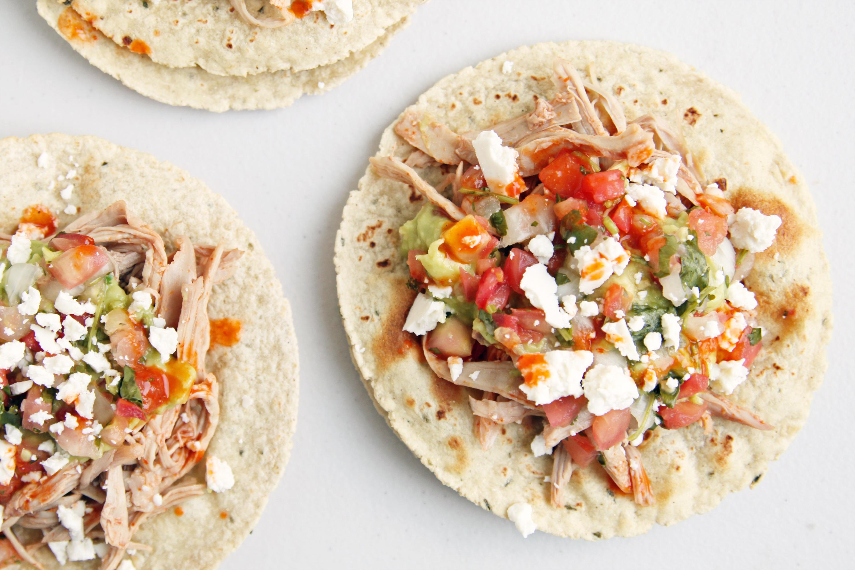 Turkey tacos recipe popsugar food for Leftover shredded turkey sandwiches