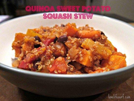 Quinoa Sweet Potato Squash Stew