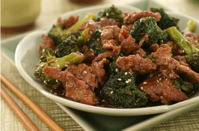 Recipe: Easy Beef with Broccoli