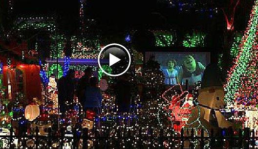 Massive Christmas Lights Display Has Neighbors Complaining ...
