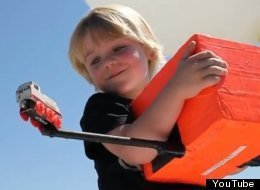 Dad Sends 4-Year-Old's Train Into Space (VIDEO)