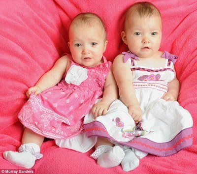 Twin Believed to Have Saved Her Sister's Life in the Womb