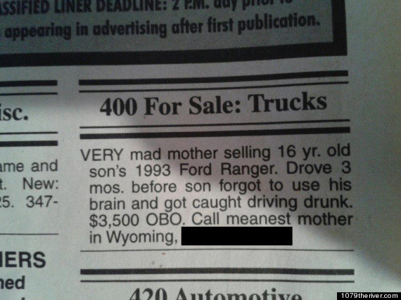 Angry Mom Sells Her Son's Truck