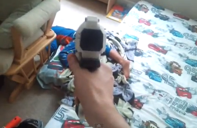 Dad Tries New Way to Get His Son Out Bed (VIDEO)