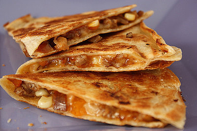Recipe of the Week: Quick Apple Sausage Quesadillas