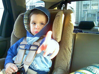 5 Ways To Keep Your Child In Their Car Seat or Booster
