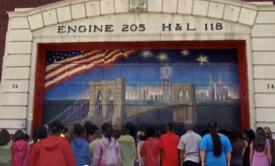 School Children's Touching Song of Tribute To NYC Firefighters (VIDEO)