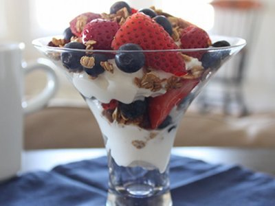 Recipe: Yogurt Sundaes