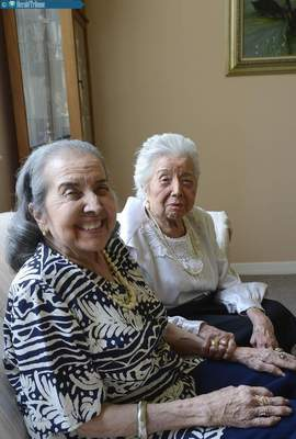104 Year-Old-Woman Lovingly Cares For Her 86-Year-Old Daughter