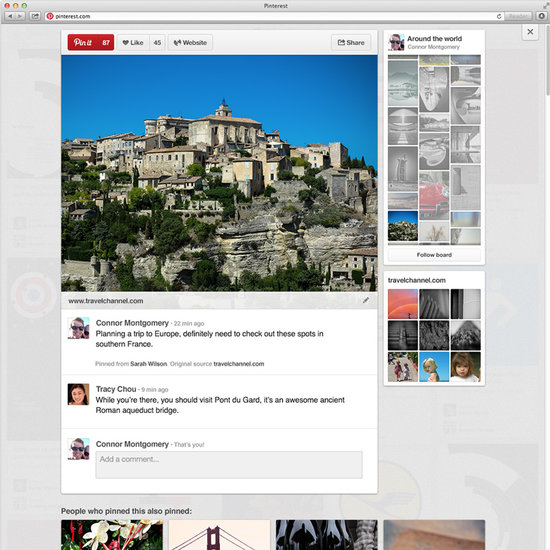 New Pinterest Look | POPSUGAR Tech