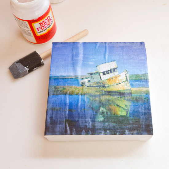 diy square canvas prints popsugar smart living
