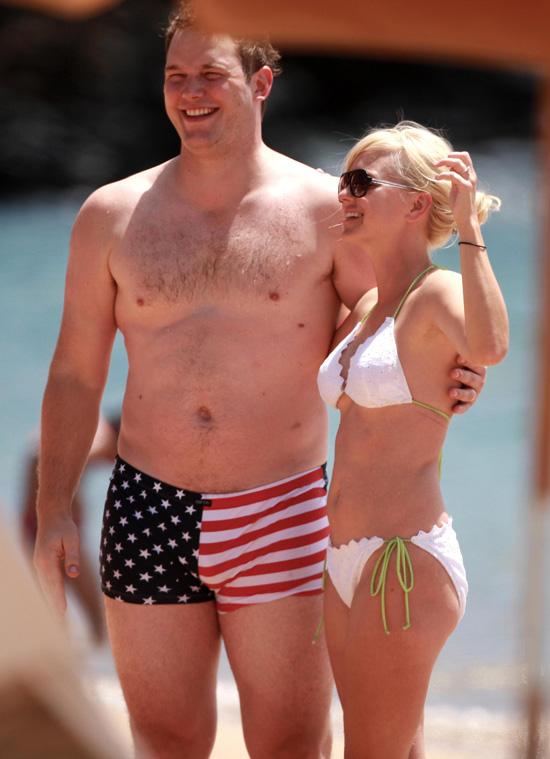 Chris Pratt Shirtless Photos   POPSUGAR Celebrity Malin Akerman Husband