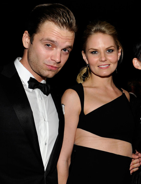 Jennifer Morrison with her former lover Sebastian Stan