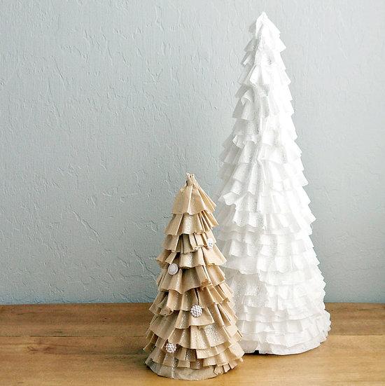 Diy Coffee Filter Christmas Tree Popsugar Smart Living