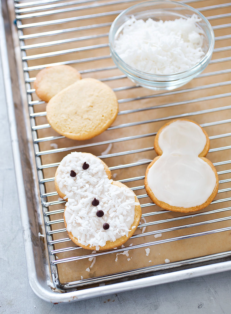 Snowmen Christmas Cookies Recipe Popsugar Food