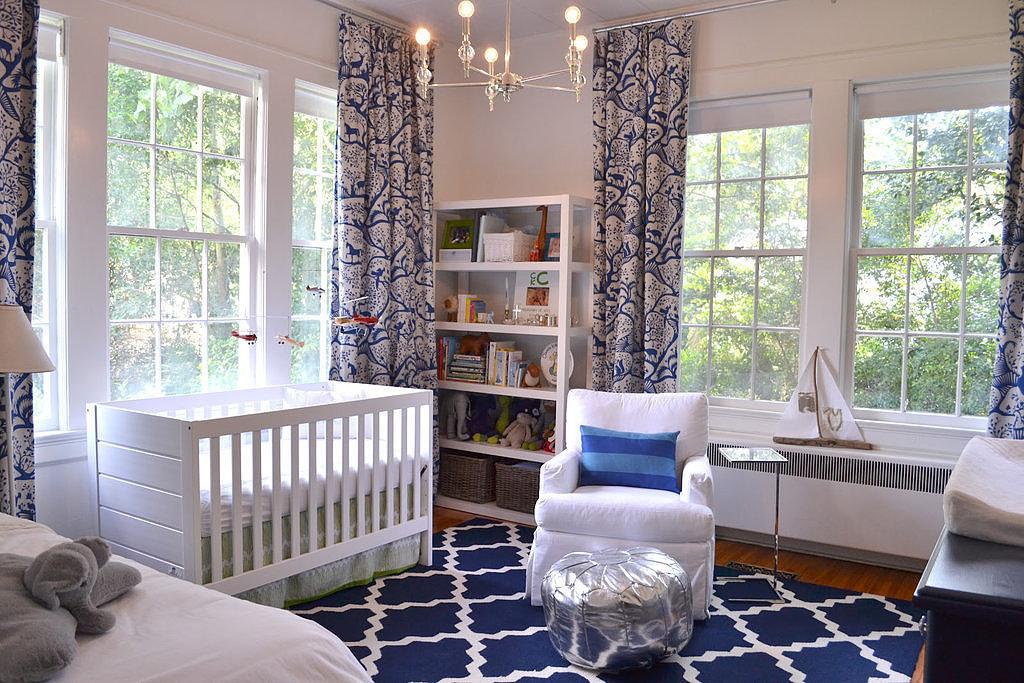 Blue Nursery Ideas | POPSUGAR Moms