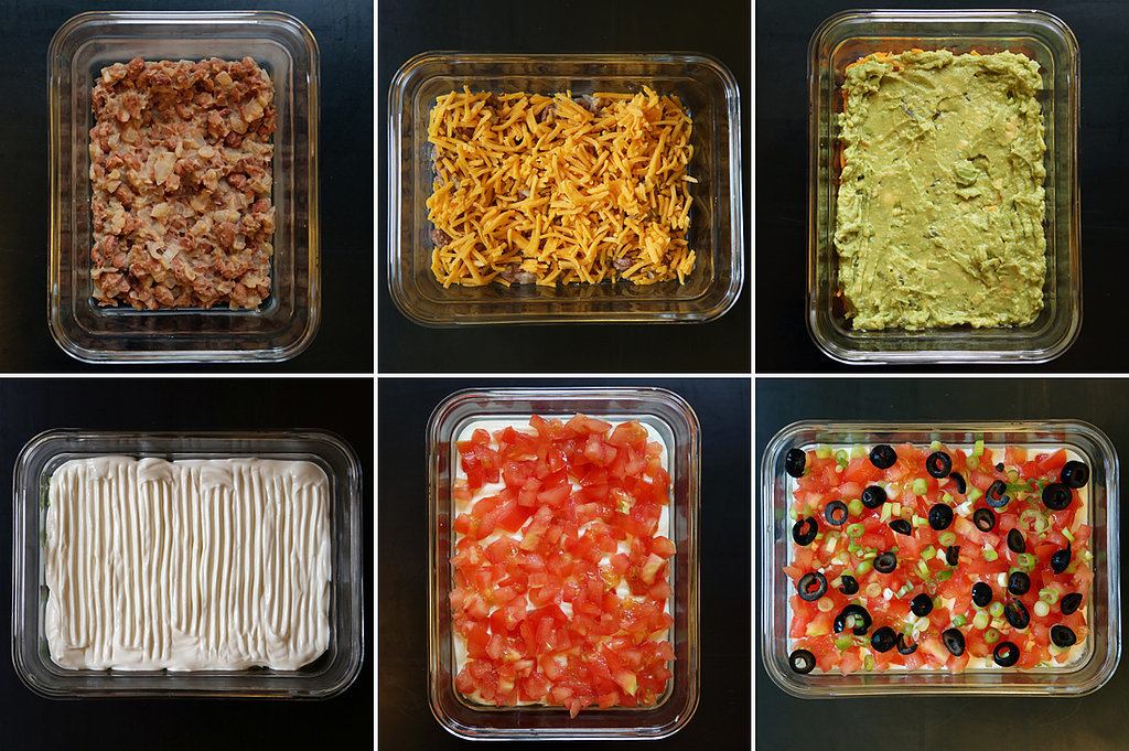 Tackle Worthy 7 Layer Dip