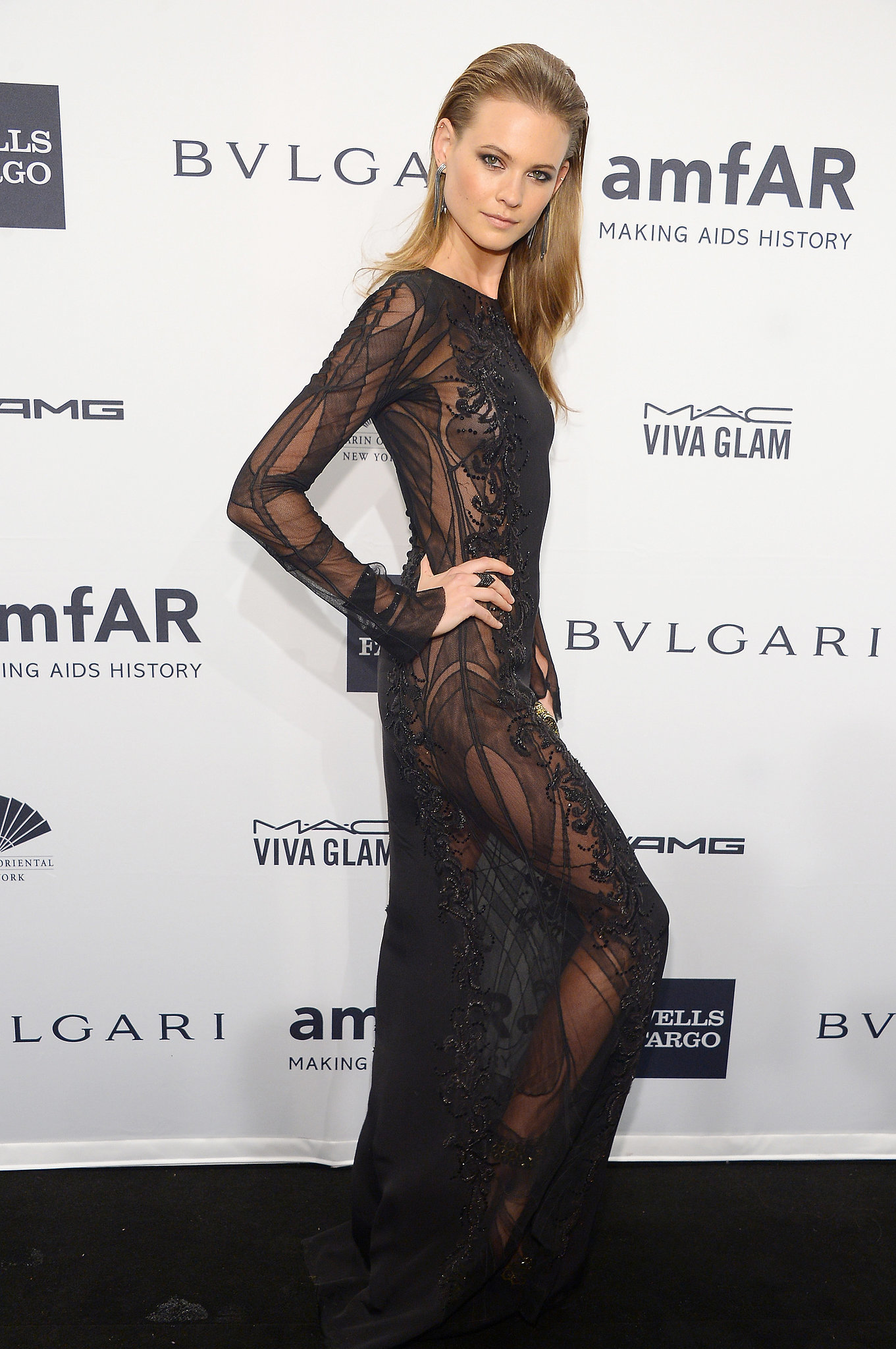 Karlie Kloss Dress At Amfar Gala Popsugar Fashion