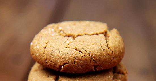 Ginger Molasses Quinoa Cookies