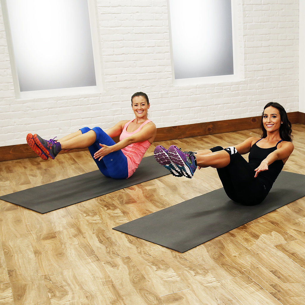 Source: 10-Minute Workouts to Keep You Slim This Holiday SeasonNovember 3, 2014 by Sarah LipoffChat with us on Facebook Messenger. Learn what's trending across POPSUGAR.5.1K SharesShare This LinkCopySource: Getty / Cultura RM/Sverre HauglandC9 by Champion knows how important it is to fit in that workout, which is why we partnered with them on this post.It doesn't matter if you're heading to Grandma's apple-pie-scented house or indulging in a stay-cay for the holidays, these workouts can be done anywhere, allowing you to dig into a big slice of your favorite dessert with a little less guilt. Along with upping your heart rate, these 10-minute videos target specific areas, letting you choose which one's right for you. Extra bonus? No equipment necessary. And no excuses — these workouts can be snuck in before your morning shower, when needing a moment to get away from the extended family, or right before bed. CardioPlyoJam dance workout: Love to dance? This quick workout combines shaking your booty with explosi - 웹