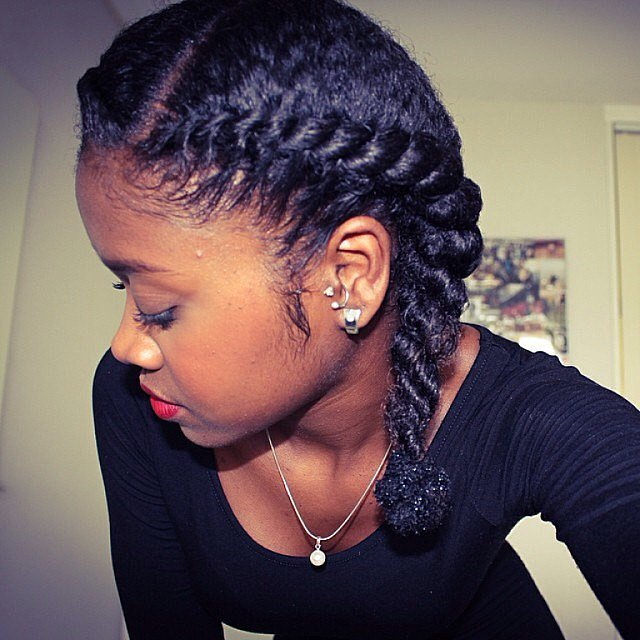 short hair styles for school 75 black braided hairstyles to wear 6245 | Protective Pigtails