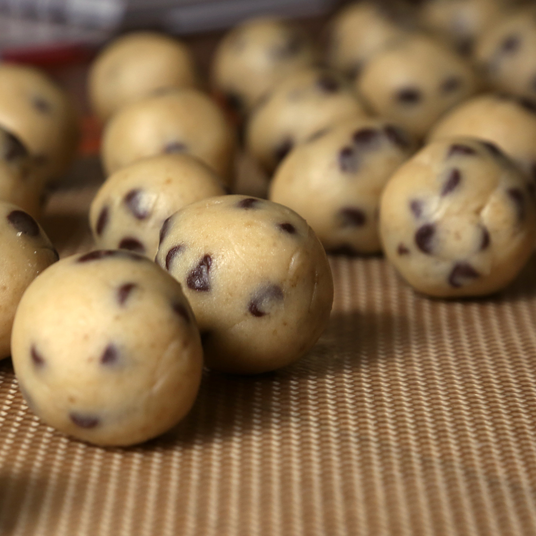 Chocolate Chip Cookie Dough Truffles Popsugar Food