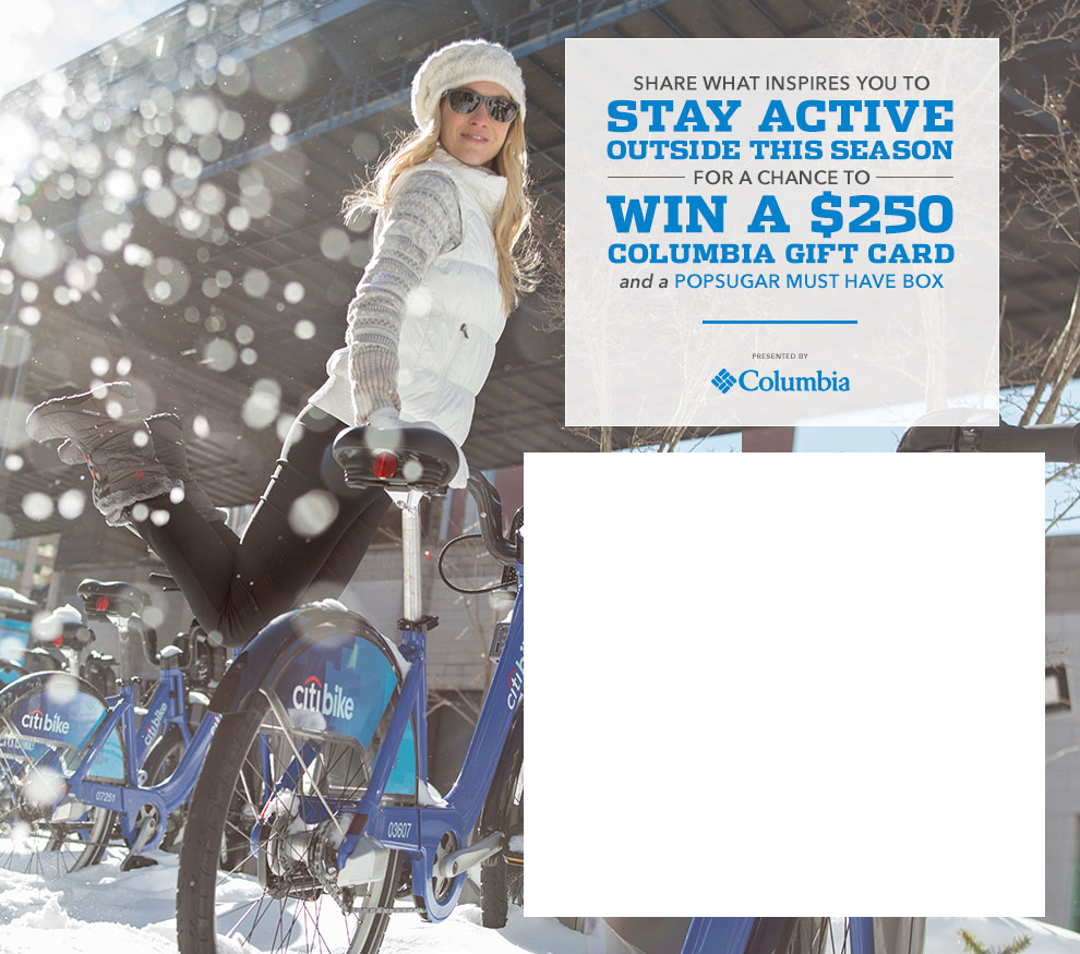 Share What Inspires You to Stay Active Outside This Season