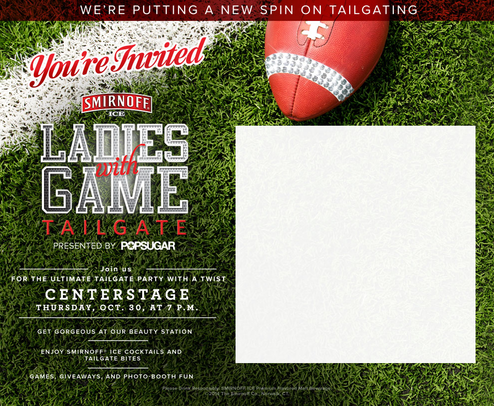Ladies With Game Tailgate