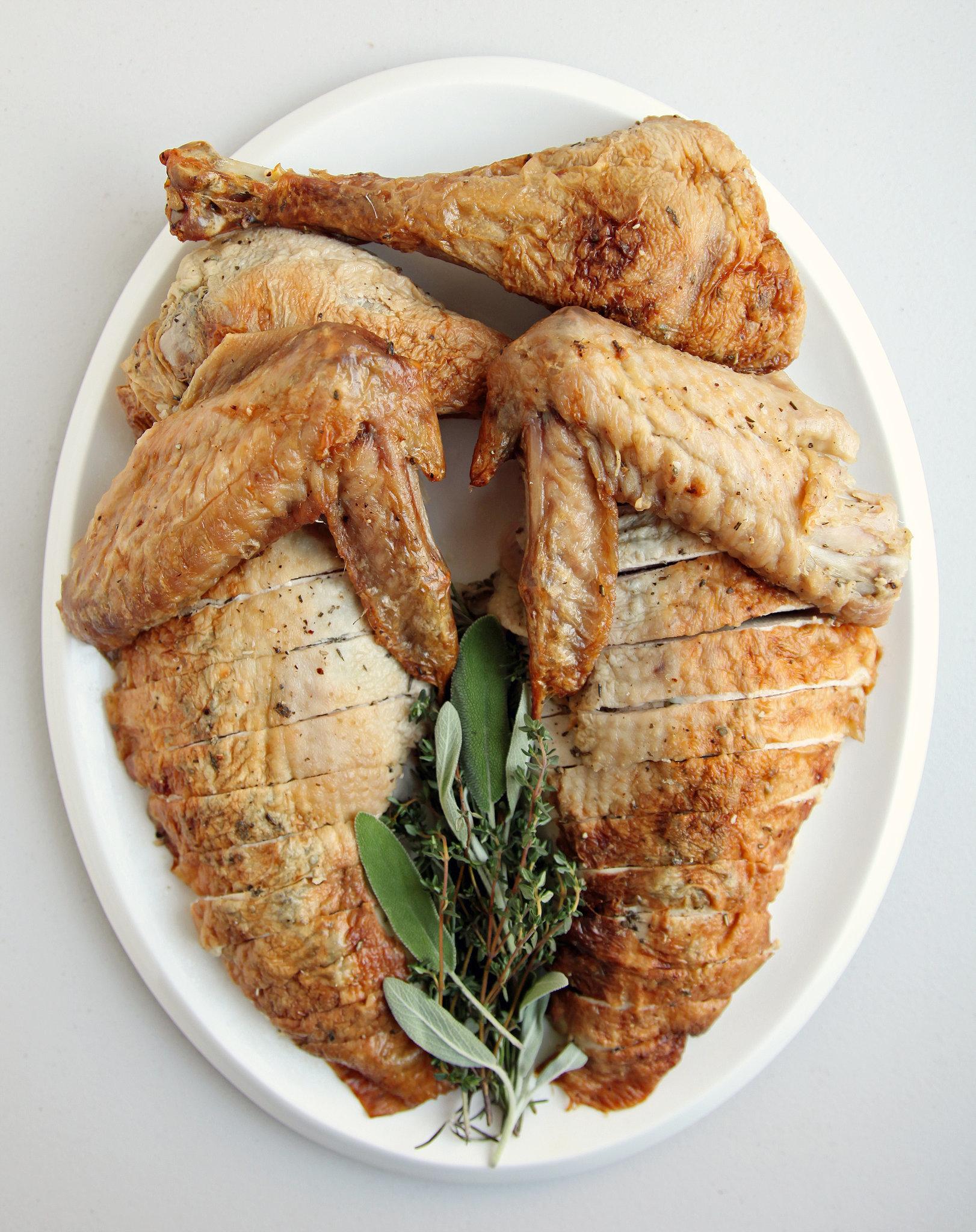 Easy Herb-Roasted Thanksgiving Turkey Recipe | POPSUGAR Food