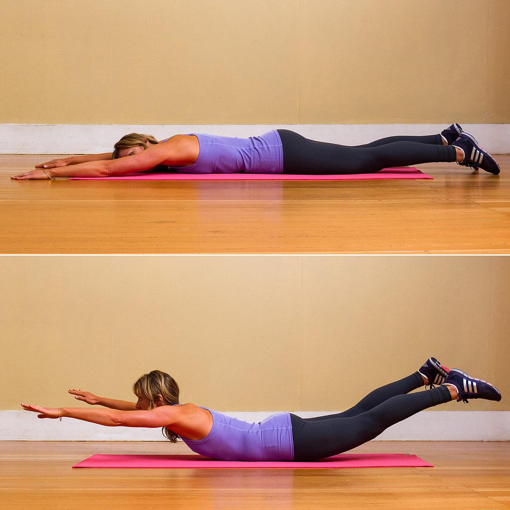 Stretch Relieve Texting Neck Pain Popsugar Fitness