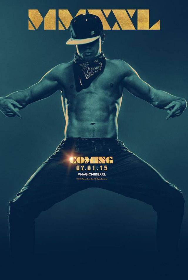 magic mike xxl poster popsugar entertainment. Black Bedroom Furniture Sets. Home Design Ideas