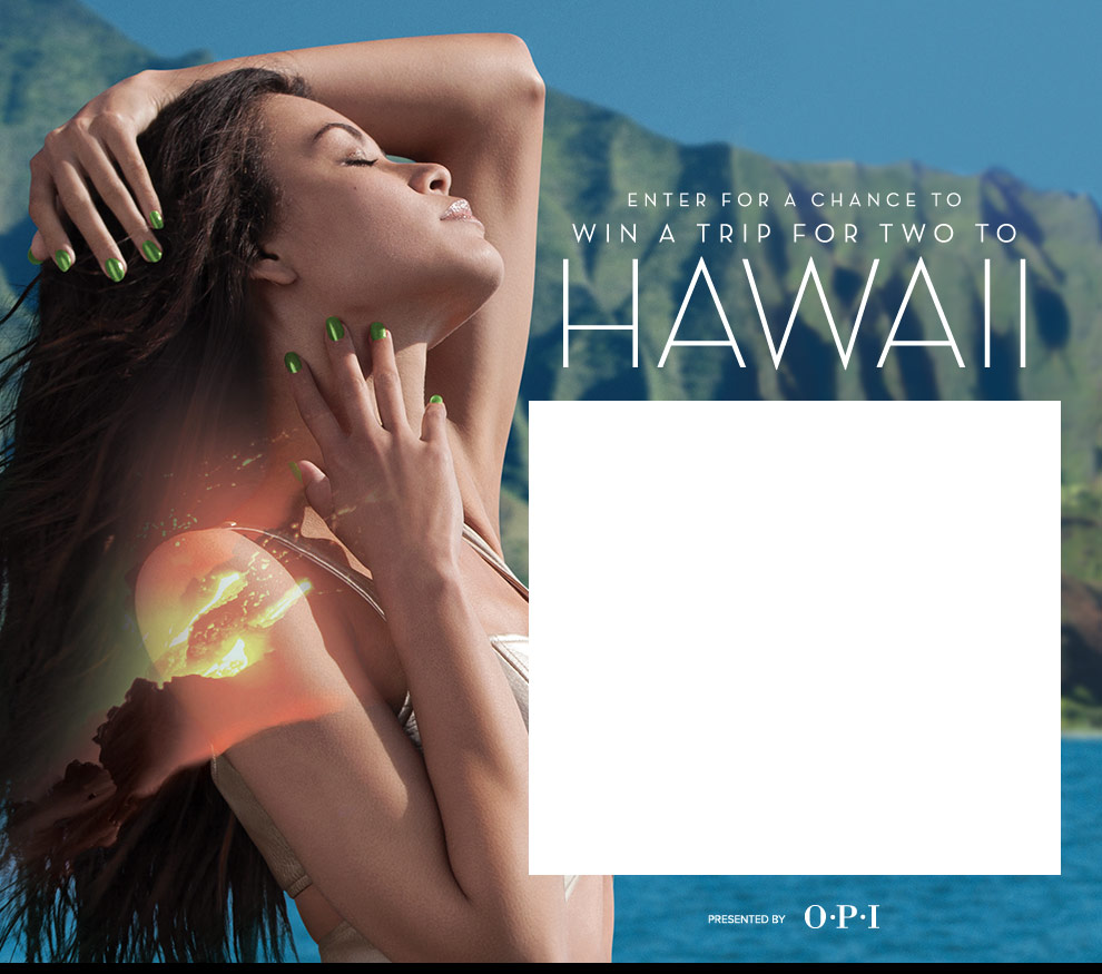 Enter For a Chance to Win a Trip For Two to Hawaii