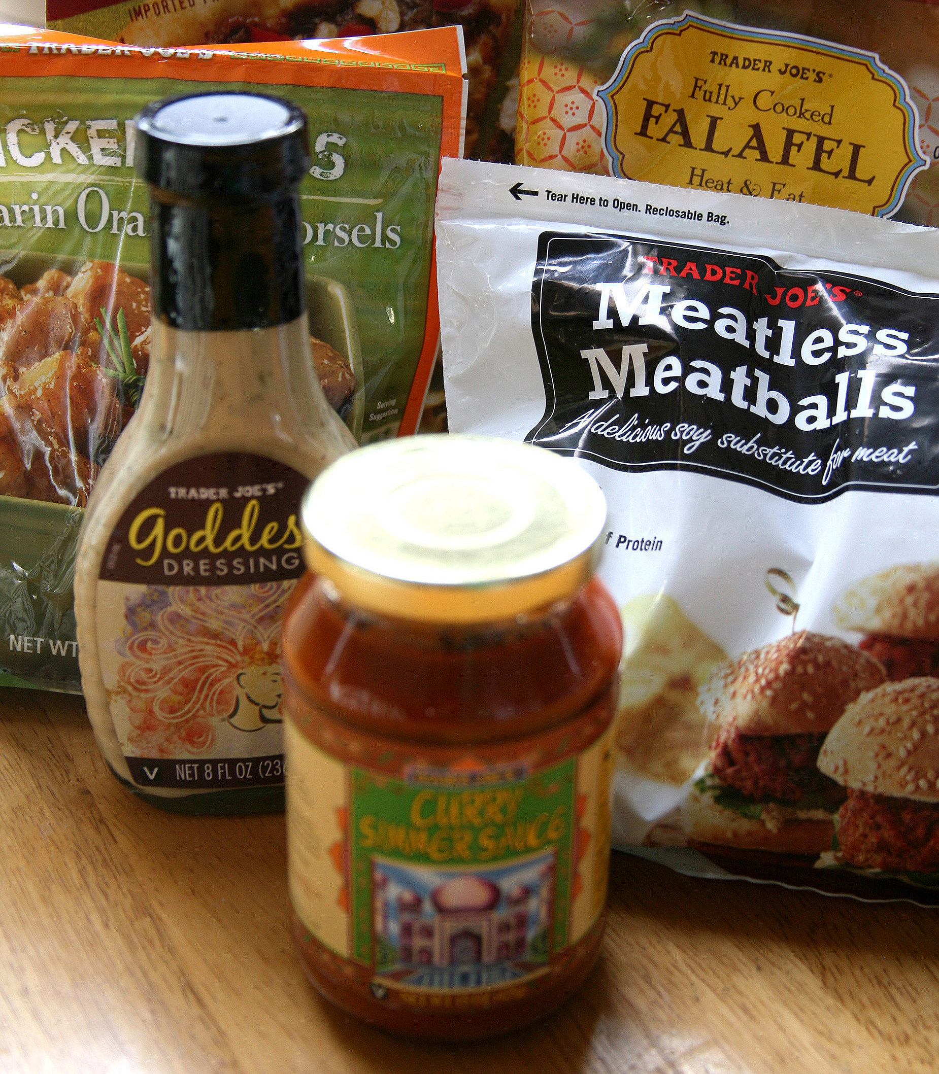 Best vegan options at trader joe's
