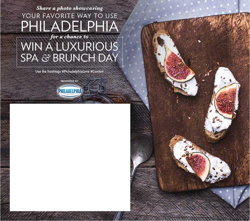 Kraft Philadelphia Instagram Contest