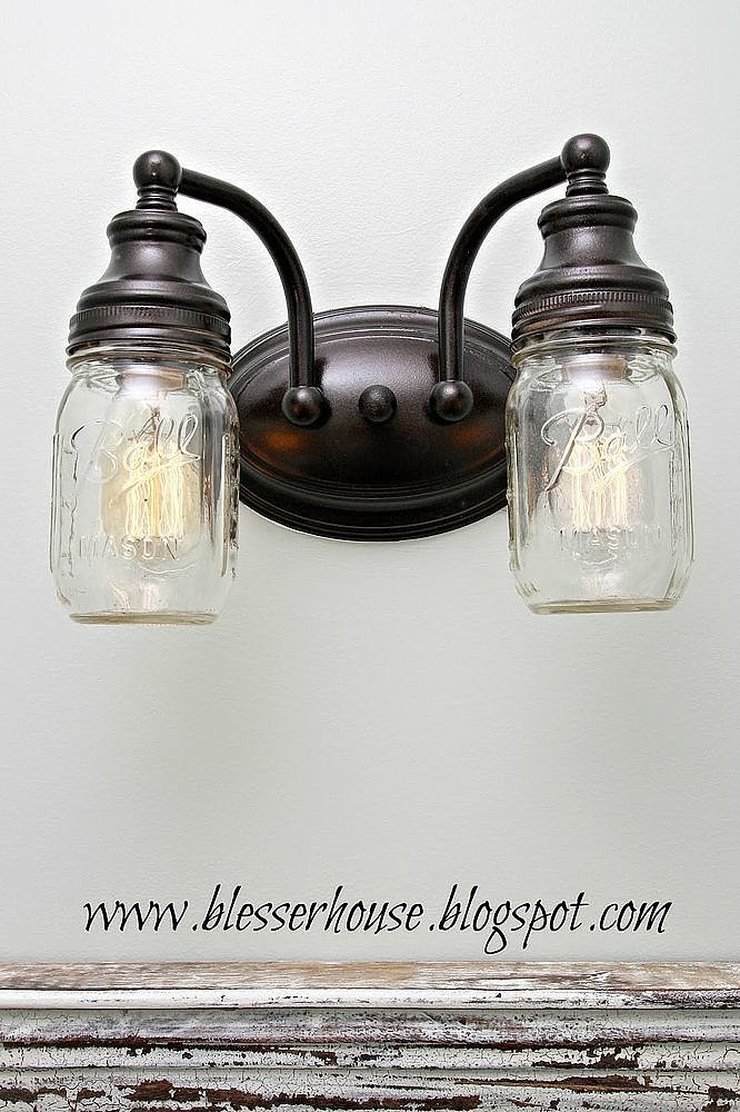 Diy Mason Jar Light Popsugar Home
