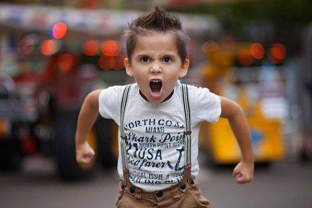 angry child - photo #38