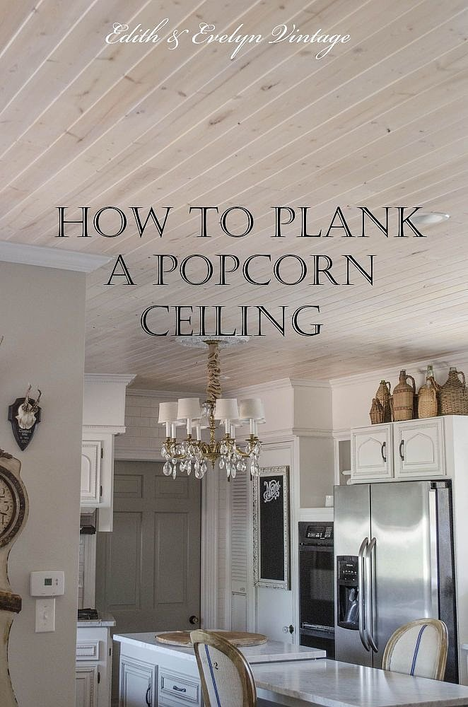 How to get rid of a popcorn ceiling popsugar home for What do you use to remove wallpaper