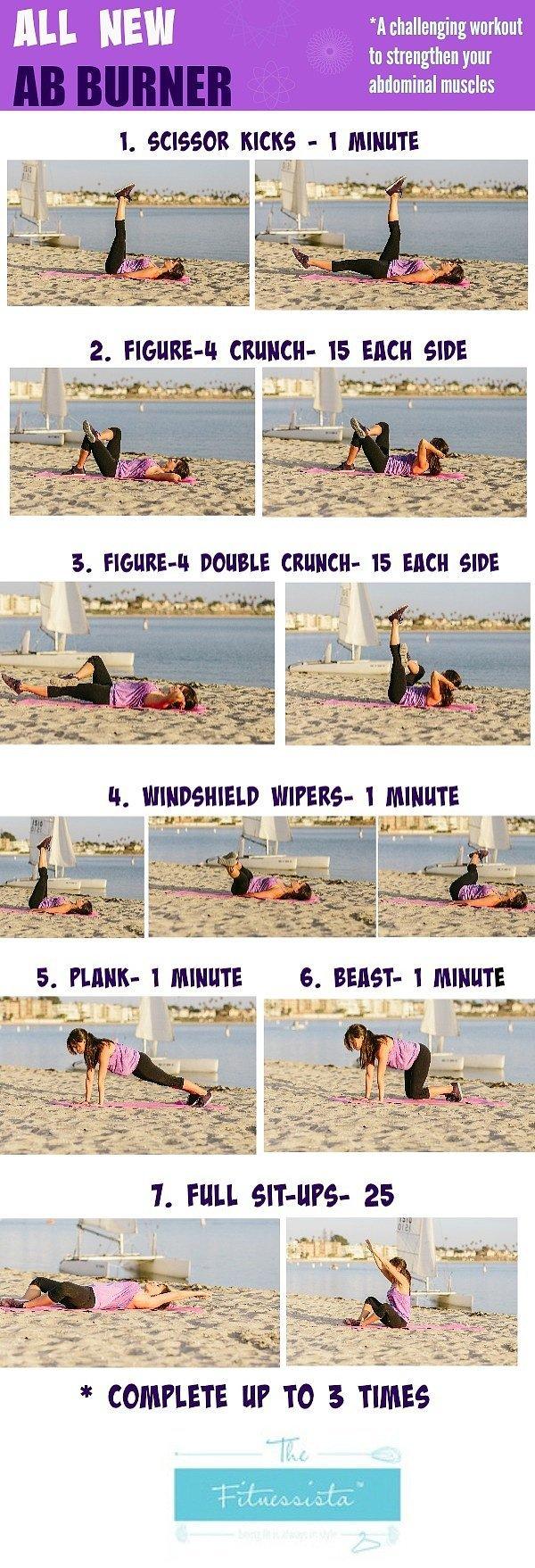 ab burner workout