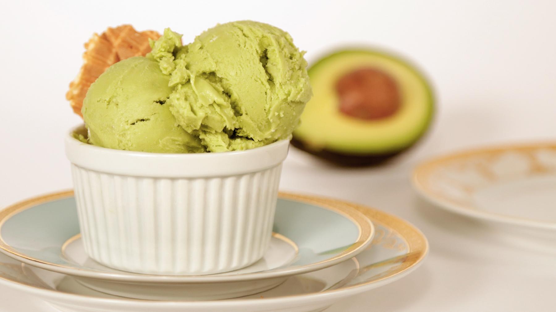 Image result for avocado ice cream