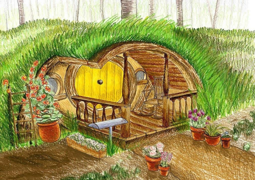 lord of the rings hobbit hole kickstarter - Lord Of The Rings Hobbit Home