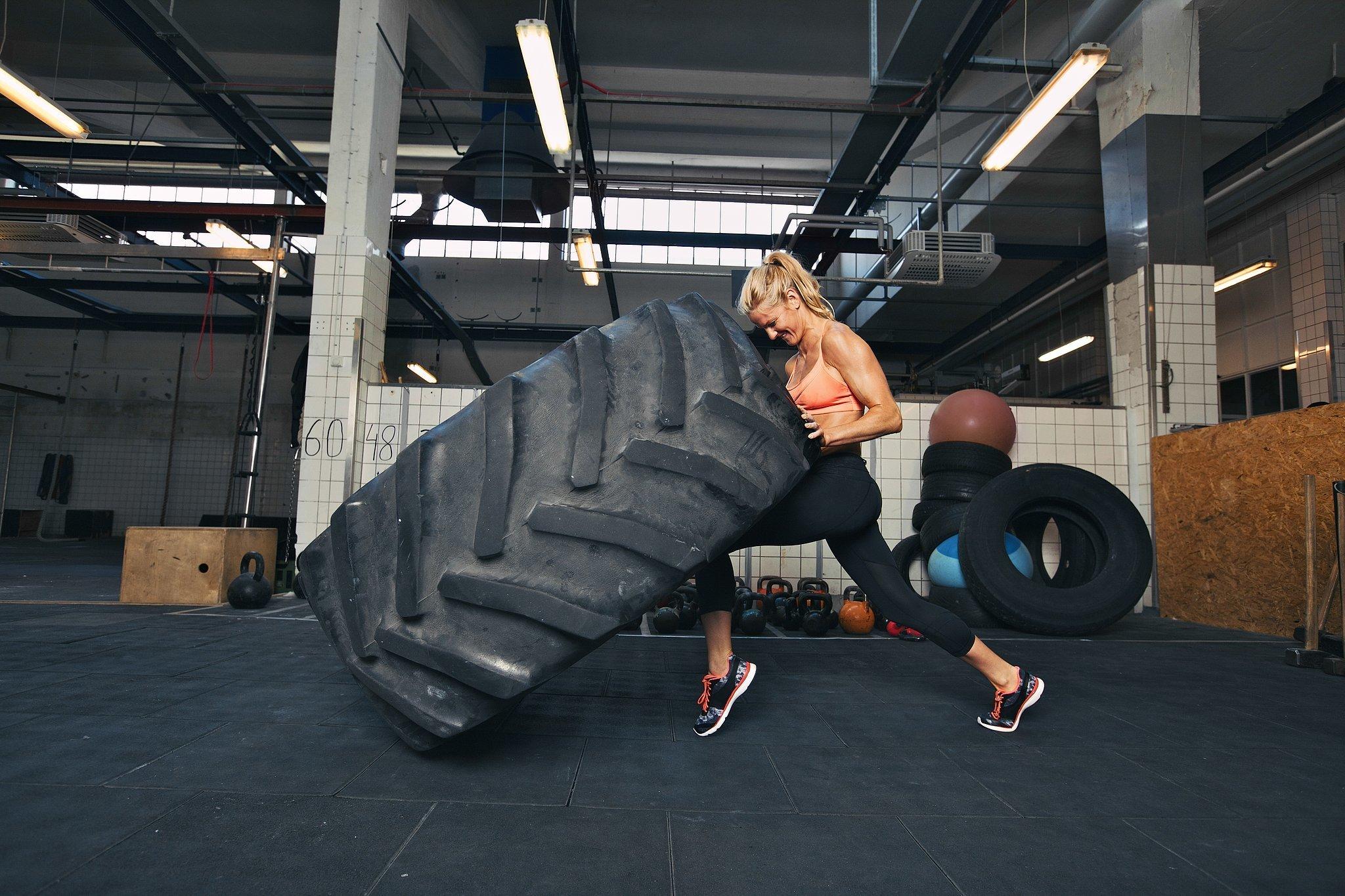 Treinando CrossFit
