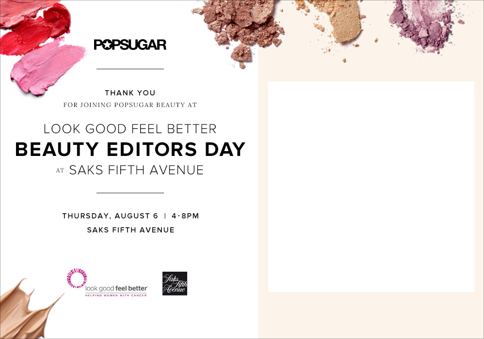 POPSUGAR Beauty Editor Day