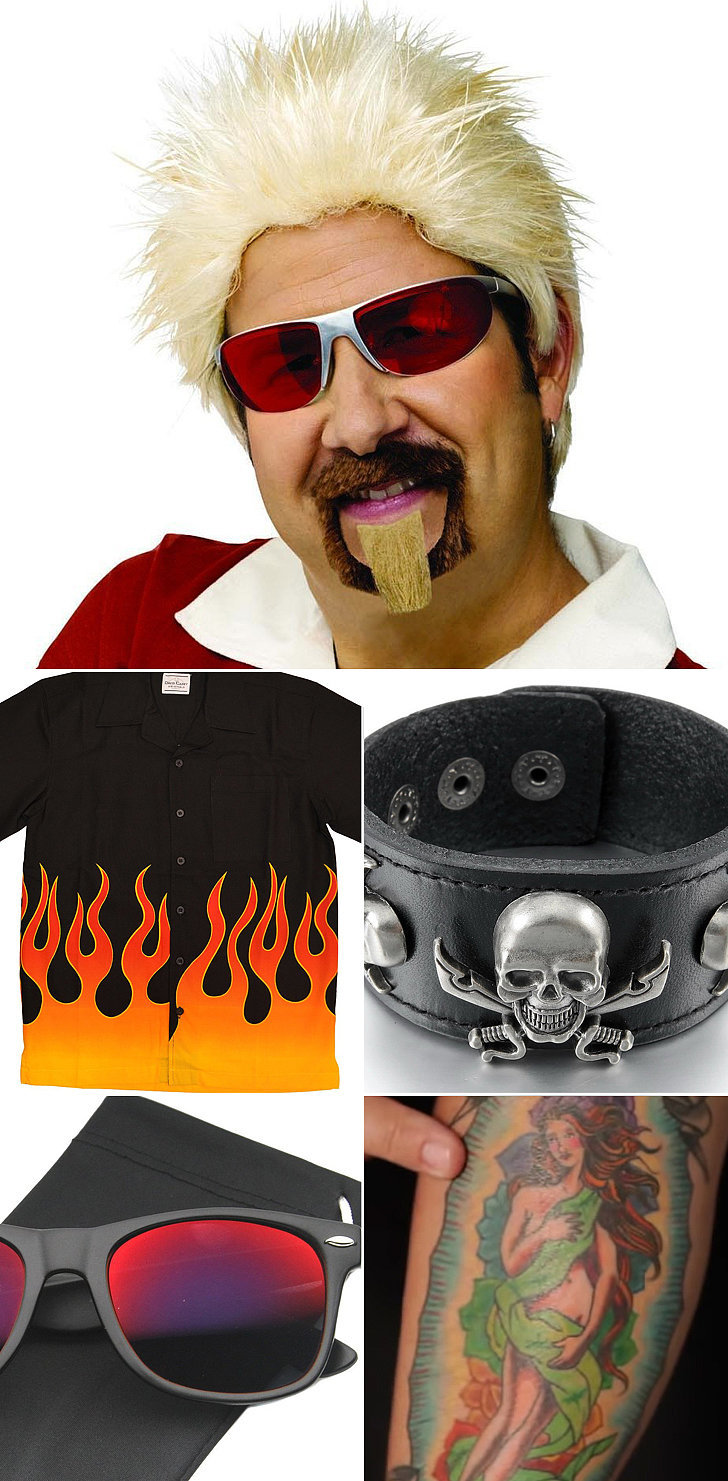 If you find yourself suddenly inspired weu0027ve gathered all the essential costume parts youu0027ll need to pull off a Guy Fieri costume as good as Chrissyu0027s.  sc 1 st  Popsugar & How to Dress Like Guy Fieri For Halloween | POPSUGAR Food