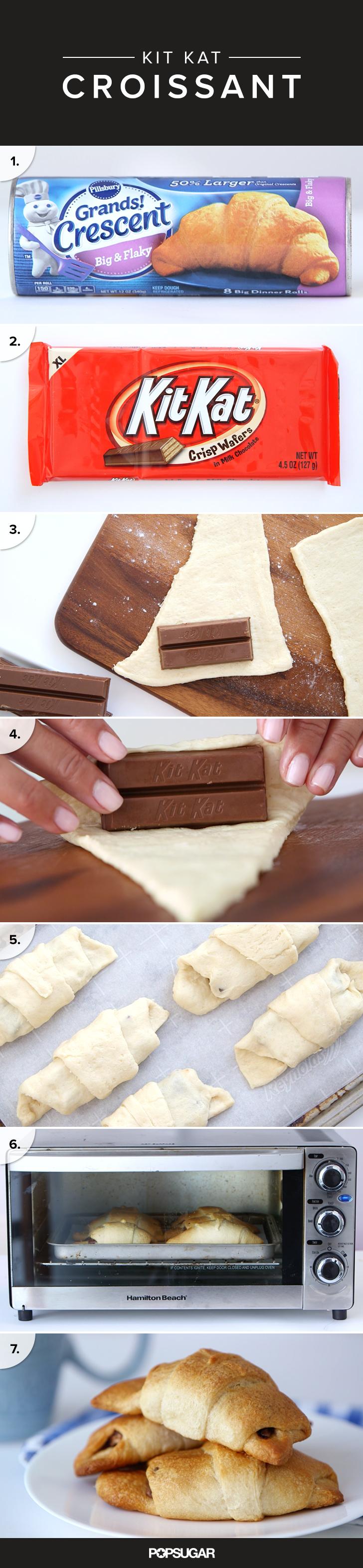 Kit Kat Croissant Recipe | POPSUGAR Food