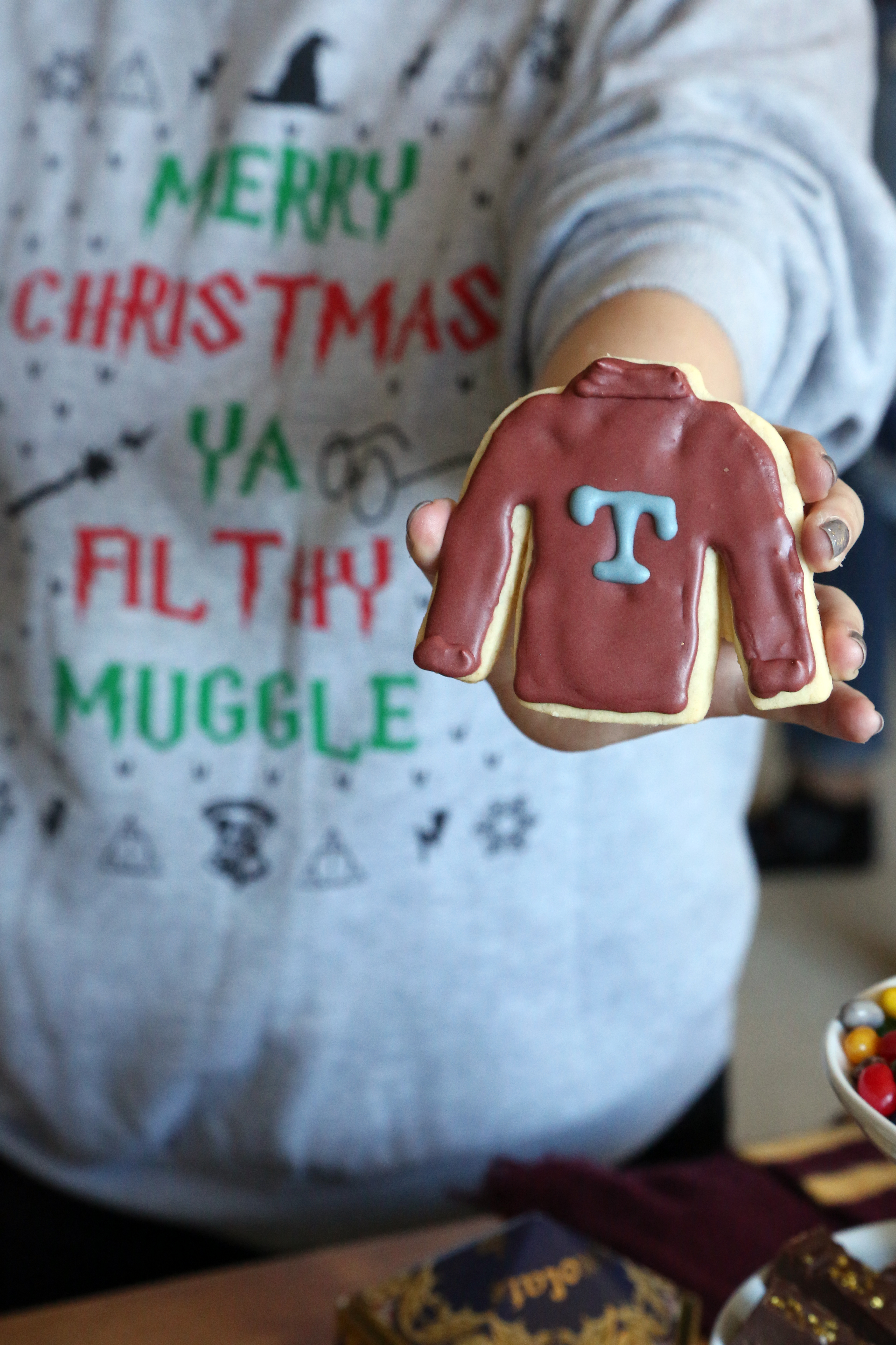 e2e2a603988 Mrs. Weasley's Ugly Christmas Sweater Cookies Will Leave You in Stitches