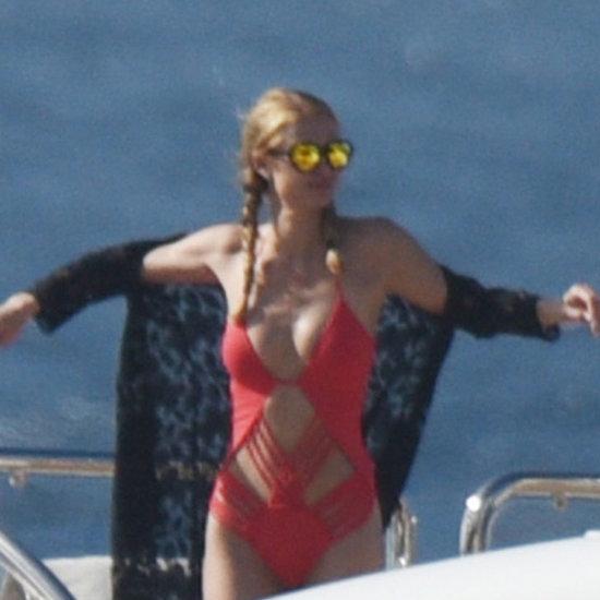Paris Hilton Bikini Photos December 2015