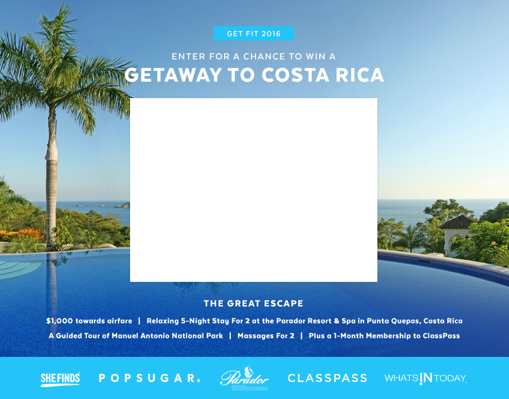 Costa Rica Giveaway