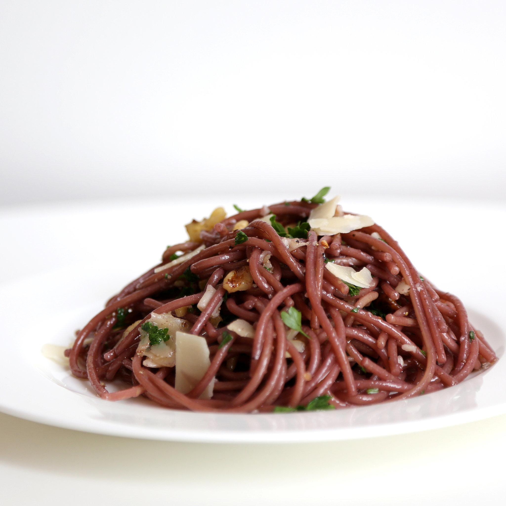 Spaghetti cooked in red wine popsugar food forumfinder Choice Image
