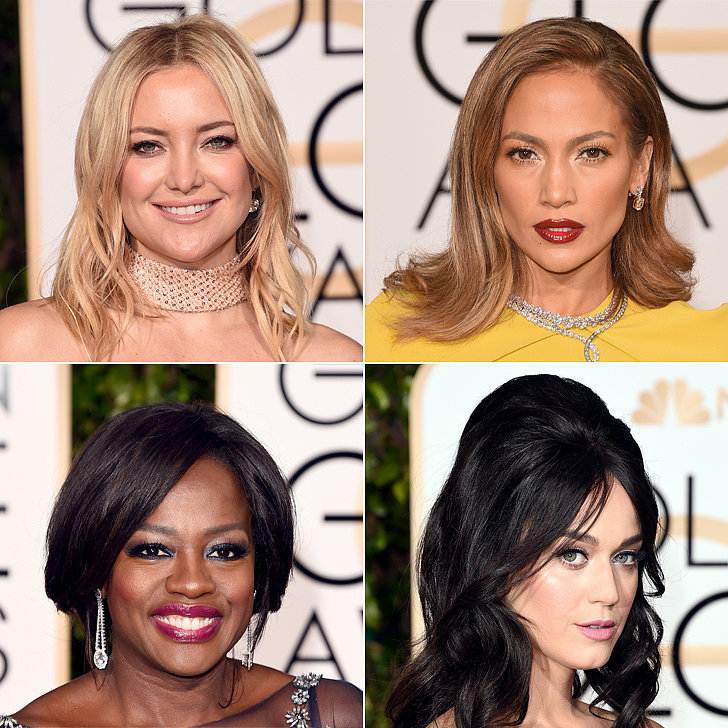 See Every Drop-Dead Gorgeous Beauty Look From the Golden Globes